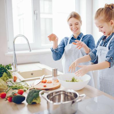 cocina en isla o cocina en península